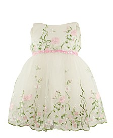 Baby Girls Flower Tulle Dress