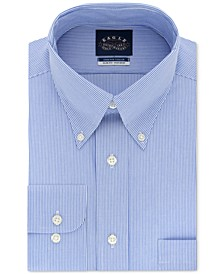 Men's Slim-Fit Non-Iron Stretch Collar Dress Shirt