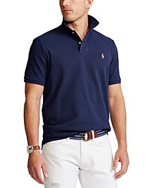 Men's Classic Fit Mesh Polo Shirt