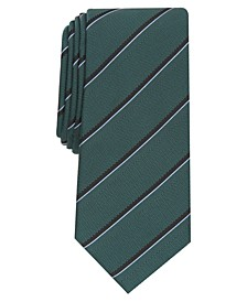Men's Clarkson Slim Stripe Tie, Created for Macy's