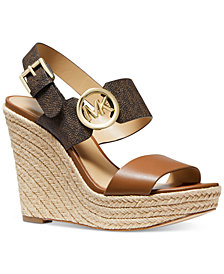 Michael Michael Kors Summer Platform Wedge Sandals