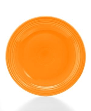Fiesta Tangerine 9 Luncheon Plate