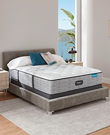 "Harmony Lux Carbon 13.75"" Plush Mattress Set - Full"