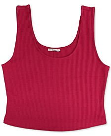 Ribbed-Knit Sleeveless Top, Created for Macy's