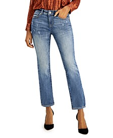 INC Petite Straight-Leg Jeans, Created for Macy's