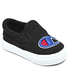 Baby Fringe Slip-On Casual Canvas Sneakers from Finish Line