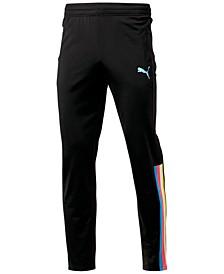 Men's Contrast Striped Pants