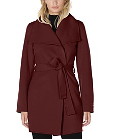 Ella Double Face Belted Wrap Coat