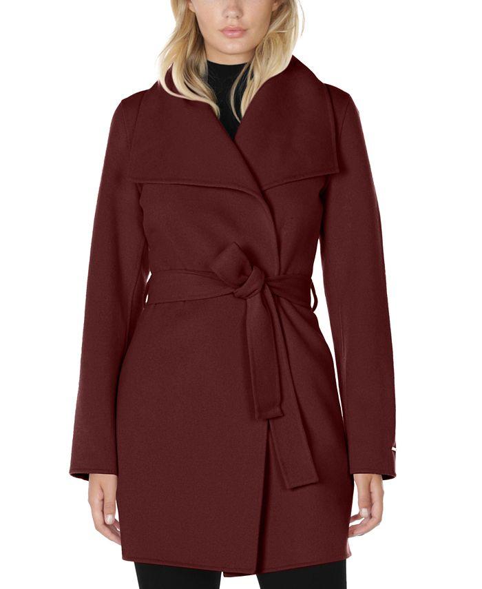 Tahari - Ella Belted Wrap Coat