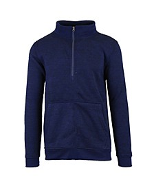 Men's Marled Half Zip Pullover Sweater