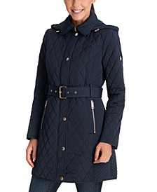 Faux-Fur-Lined Coat, Created for Macy's