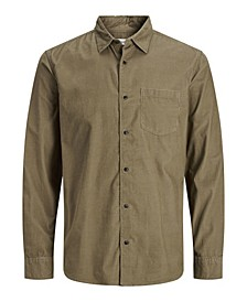 Men's Corduroy Long Sleeve Essential Shirt