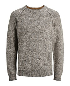 Men's Wool Long Sleeve Knit Sweater