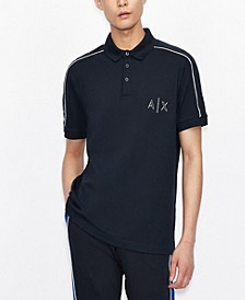 Men's Logo Tape Polo Shirt
