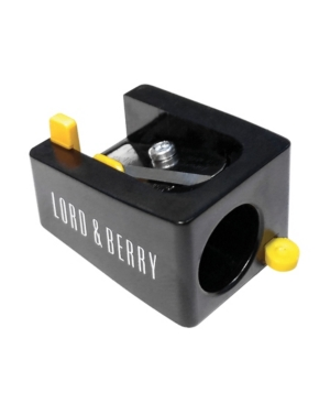 Lord & Berry Jumbo Sharpener In Black