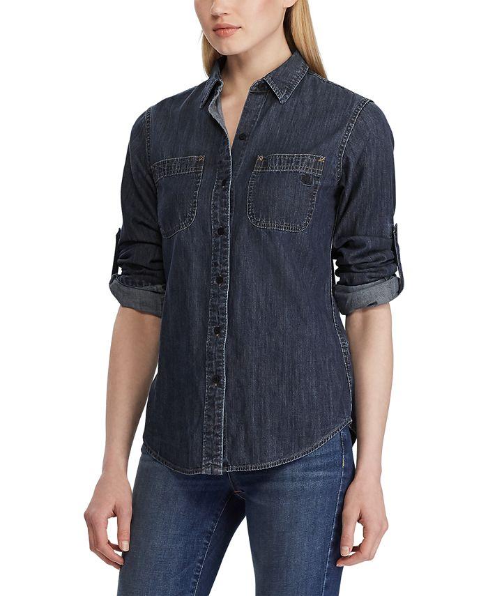 Lauren Ralph Lauren - Petite Denim Shirt