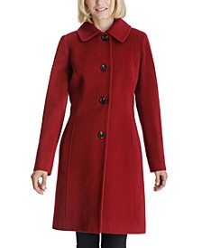 Club-Collar Walker Coat, Created for Macy's
