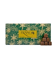 1 LB Holiday Wrapped Milk Mint Box of Chocolates