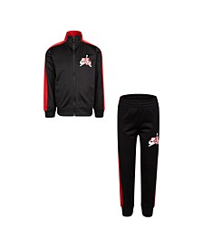 Little Boys Jumpman Classics Full-Zip Jacket and Pants 2-Piece Track Set