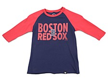 Youth Boston Red Sox Fast Track Raglan T-Shirt