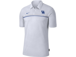 Nike Men's Kentucky Wildcats Sideline Coaches Polo