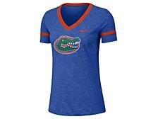 Women's Florida Gators Slub V-Neck T-Shirt