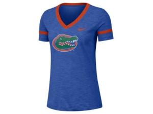 Nike Women's Florida Gators Slub V-Neck T-Shirt