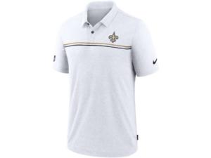 Nike New Orleans Saints Men's Dri-Fit Short Sleeve Polo