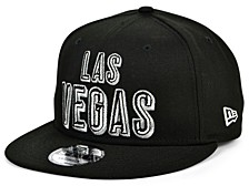 Las Vegas Raiders Stacked Wordmark 9FIFTY Cap