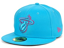 Miami Heat Teamout Pop 59 FIFTY-FITTED Cap