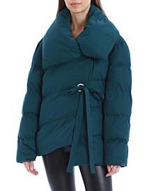 Wrap Puffer Coat