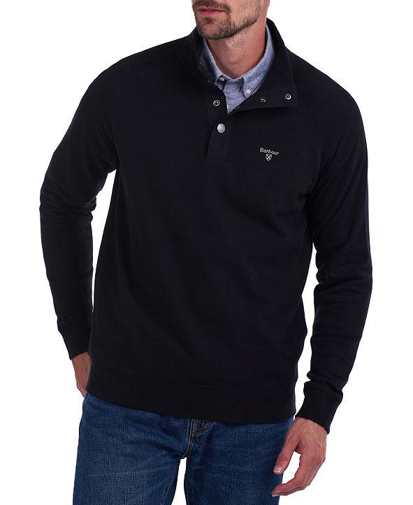 Barbour Men's Half-Snap Sweater