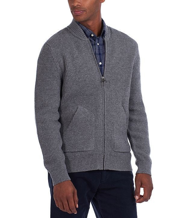 Barbour Men's Gillespie Zip-Through Sweater