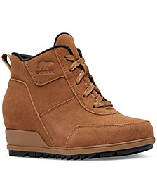 Women's Evie Sport Lace-Up Lug Sole Booties