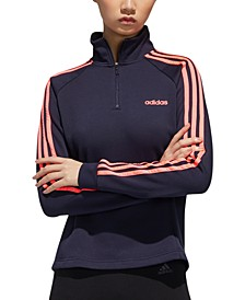 Women's Essentials Fleece Quarter-Zip Top