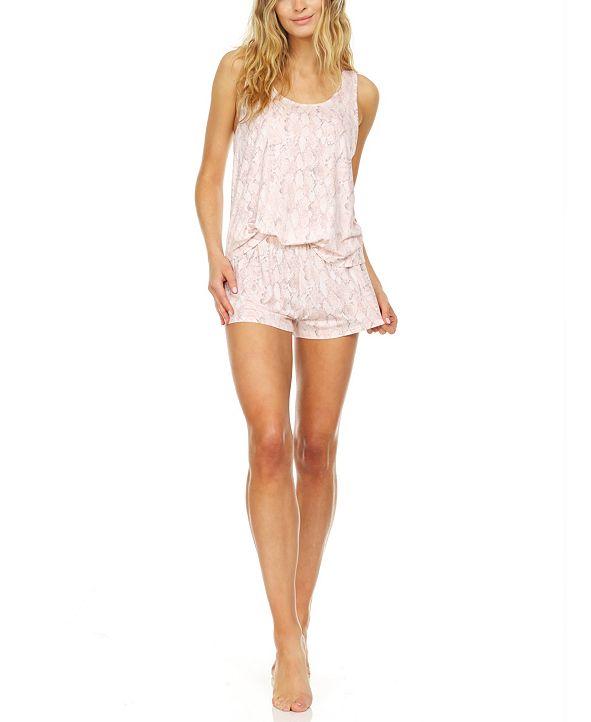 Flora by Flora Nikrooz Natalia Tank & Shorts Pajama Set