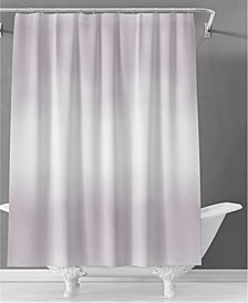 Halston Ombre Lilac Shower Curtain