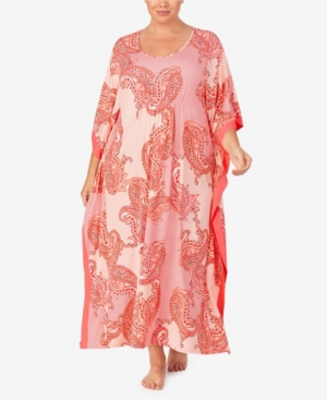 Ellen Tracy WOMEN'S PLUS SIZE LONG CAFTAN
