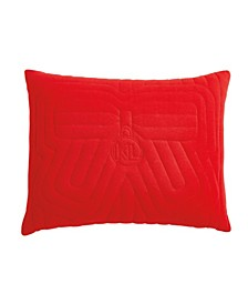 """Quilted Bow Decorative Pillow, 20"""" x 16"""""""