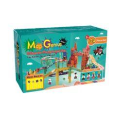 Mag-Genius 124 Piece Ultimate Magnetic Racing Set