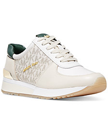 MICHAEL Michael Kors Allie Trainer Signature Logo Sneakers