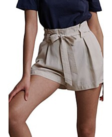 Women's Desert Paper Bag Shorts