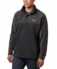 Men's Steens Mountain Colorblocked 1/4-Snap Fleece Sweatshirt