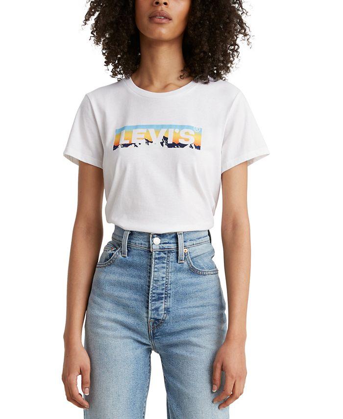 Levi's - Cotton Printed-Logo T-Shirt