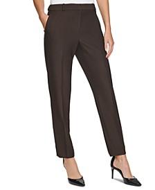 Twill Slim Pants, Regular & Petite Sizes