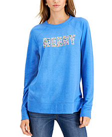 Style & Co Sequined Sweatshirt, Created for Macy's