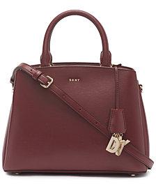 DKNY Leather Paige Medium Satchel