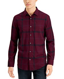 Men's Parsons Plaid Shirt, Created for Macy's