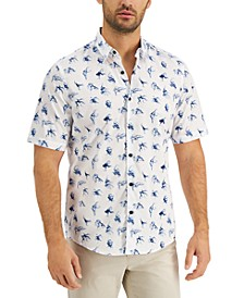 Men's Abstract Printed Shirt, Created for Macy's