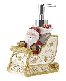 Santa's Sleigh Holiday Lotion Pump
